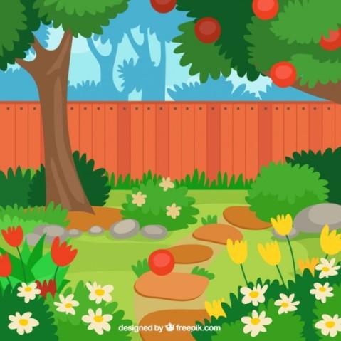 lovely-flat-apple-tree-in-the-garden-design_23-2147547021