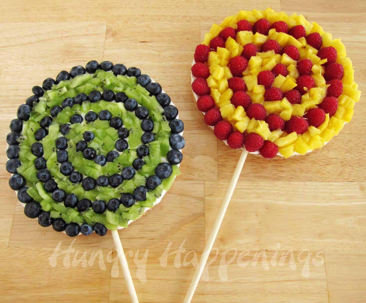 Украшения из фруктов фото на детский праздник