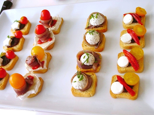 Canap bu i ti c v i nh ng m n n nh xinh miumiucooking for Canape suggestions