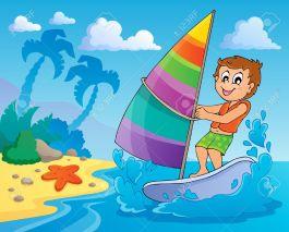 19352483-water-sport-theme-stock-vector-cartoon-surfing-beach