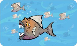 7951165-piranhas-attack-stock-vector-cartoon-piranha-fish