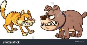 dogfightingcartoon